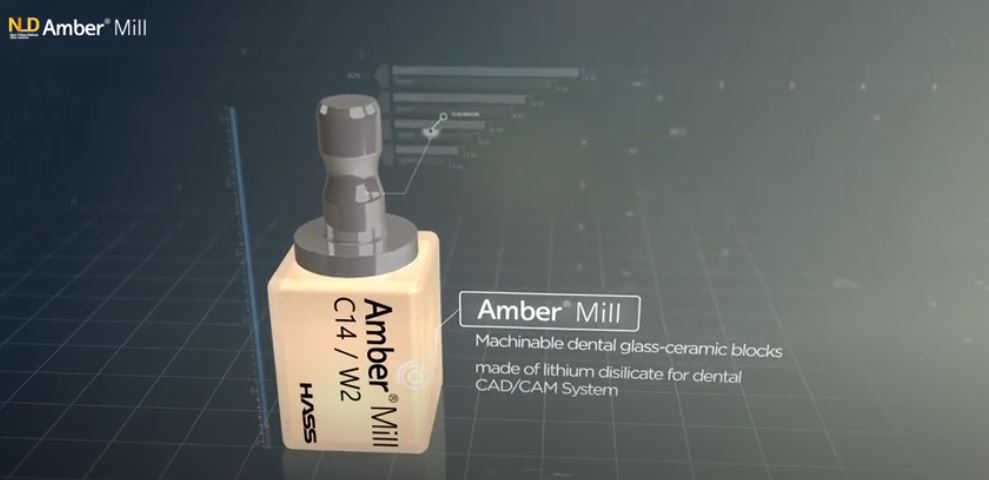 [Product] Amber Mill _ NLD (Nano-Lithium Disilicate CAD/CAM Blocks)